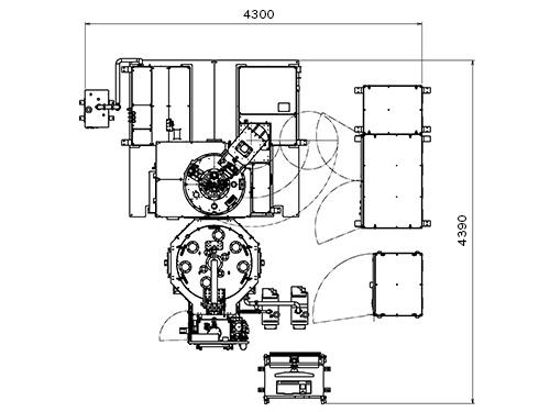 AFTEX-8000シリーズ寸法図