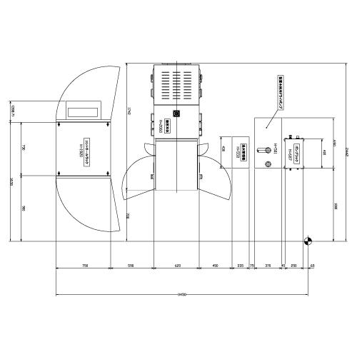 AFALD-8 寸法図